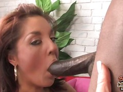 White mom getting fucked by big black cock