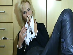 Mature With Wet Pussy And Stinky Pant...