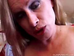 Beautiful big tits mature amateur has...