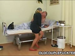 mature, old, threesome,