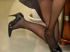 stockings, mature, stocking, k.d.