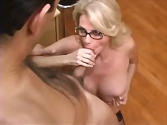 Busty Mature Secretary Gets Fucked in...