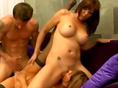 Xhamster - Hot Mature Cougars Rachel Rivers & Desi Foxx Threeway