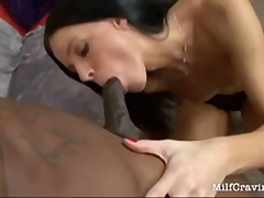 Wild MILF taking a har...