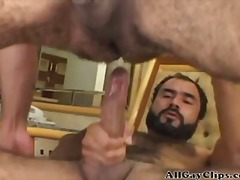 Bear Taking Hard Cock K Deep Inside