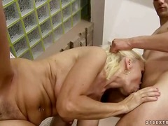 mature, blowjob, granny, old,