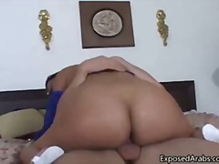 Naughty Arab girl gets her throat fucked part5