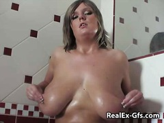 milf, masturbation, solo, big boobs, amateur