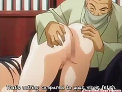 Busty hentai chick get... video