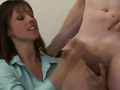 Thumb: Dirty brunette cant st...
