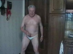 Mature Gay Solo Wanking