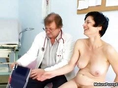 mom, doctor, mature, hairy,