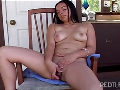 Latin angel masturbate... video