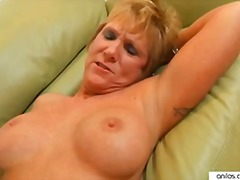 Horny granny loves fac... video
