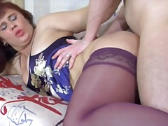 matures, stockings, anal,