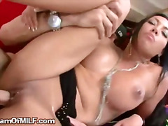 Sweet Booty Latina Holds Down Cock