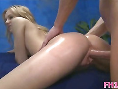 Thumb: Girl blowing during ma...