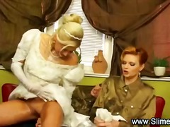 Bride bukkaked by her ... preview