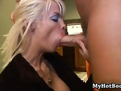 squirting, one, facial, on, blue