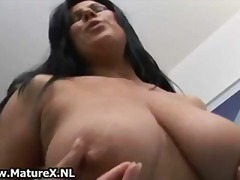 See: Mature brunette loves ...