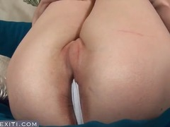 shaved, masturbating, brunette,
