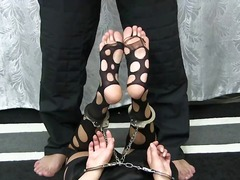 DrTuber Movie:Feet tickle in nylon