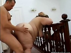 Fat old mature housewi... video