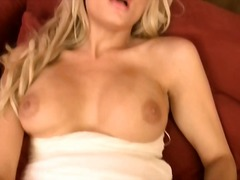 masturbation, blonde, fingering