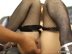 Busty Asian slut Nozom...