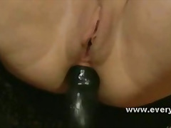 Kinky slut uses toys and medical devi...
