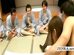 H2porn Movie:A group of ogrish Japanese men...