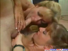 Hot mom and skinny dau...