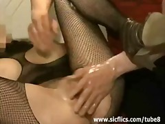 fetish, anus, gape, ass, anal, wife