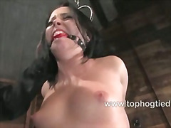 Jade Fire has large breasts and sex body