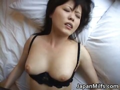 Horny japanese MILFS sucking and fucking p...