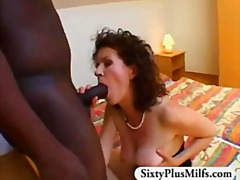 Granny bush fucked by ... video
