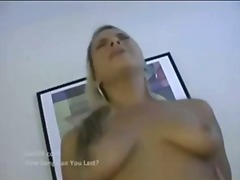 creampie, big-boobs, blonde, breasts, busty, big tits, babe, babes, tattoo