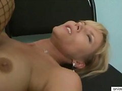 Hot blonde cougar love... video