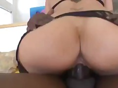 Hot milf with big titt... video