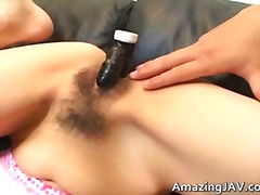 See: Asian girl gets her ha...