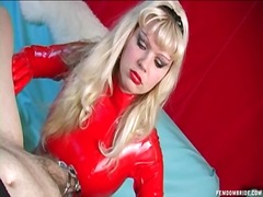 Latex Chastity Tease a... preview