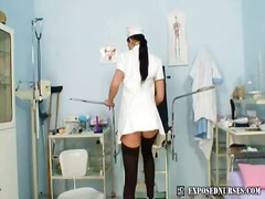 Gorgeous nurse Sa...