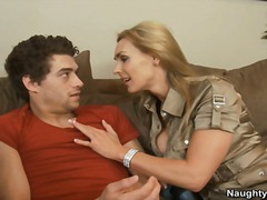 Yobt TV Movie:Tanya Tate Squeals On Couch Fr...
