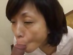 Xhamster Movie:Japanese Granny Sucks Swallows...