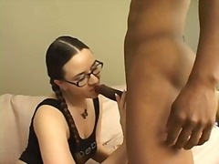 Pigtails and glasses o... - Xhamster
