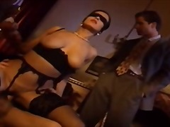 Blindfolded italian wi... video