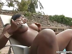 ebony, black, british, pornstar,