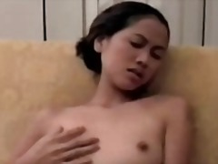 masturbation, brunette, asian
