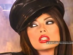 Tera Patrick's hole filled to the rim close by jizz