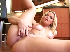 Alexis Texas solo game video